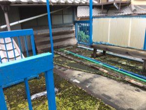 奈良県橿原市FRP防水工事前2