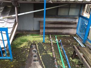 奈良県橿原市 セメント陸屋根のFRP防水工事の詳細