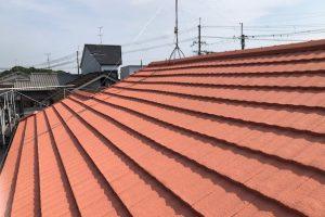 奈良県桜井市 瓦に20年持つガイナで屋根塗装リフォーム