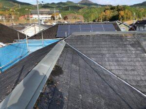 【奈良県宇陀市】屋根リフォーム|今のスレート屋根をめくって新しい下地と防水シートを張る