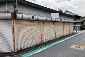 奈良県橿原市 安くて長持ちするシリコン塗料で車庫を塗装