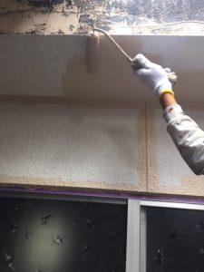奈良県橿原市K様 外壁塗装上塗り