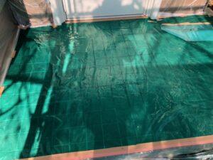 【奈良県宇陀市】外壁塗装|塗装前の養生シート張りで最後の仕上がりが決まる