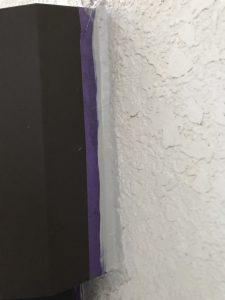 奈良県橿原市 外壁修理 シーリング剤(オートンイクシード)を抑えます2