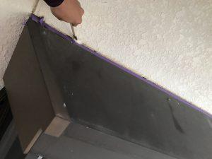 奈良県橿原市 外壁修理 プライマー塗る1