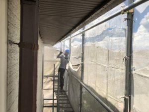 磯城郡三宅町 20年長持ちガイナで外壁塗装リフォーム