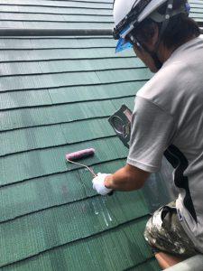 奈良県宇陀市 下塗りで密着を高めて長持ちさせる屋根塗装