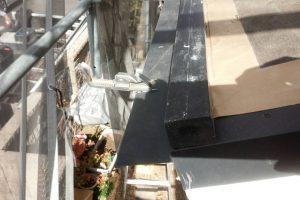 奈良県橿原市 セメント瓦屋根の雨漏り調査と修理工事