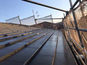 奈良県橿原市K様 屋根塗装 下塗り塗装4