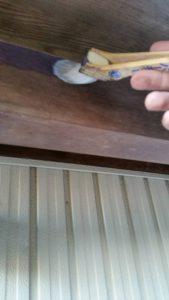 三重県名張市Y様 外壁塗装 木部塗装1