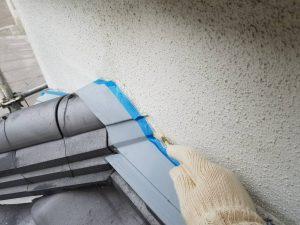 奈良県宇陀市U様 外壁塗装 外壁修理 プライマー塗布1
