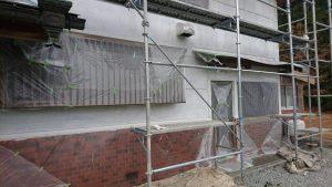 三重県名張市Y様 外壁塗装 下塗り塗装1