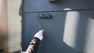 三重県名張市Y様 外壁塗装 中塗り塗装1