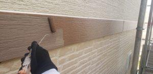 奈良県磯城郡三宅町U様 帯モール(幕板)塗装