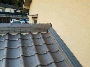 奈良県吉野郡K様 屋根修理 棟瓦の交換完成4