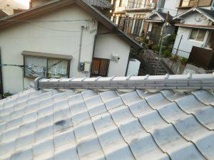 奈良県吉野郡K様 屋根修理 棟瓦の交換完成2