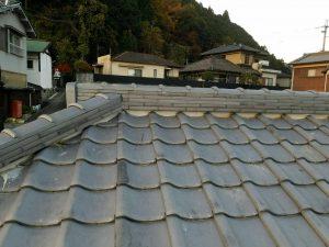 奈良県吉野郡K様 屋根修理 棟瓦の交換完成3