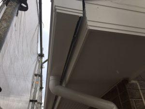 奈良県橿原市 雨樋塗装1