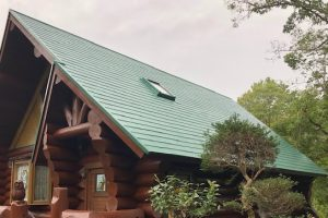 奈良県宇陀市 台風でズレた屋根を火災保険で修理後に塗装