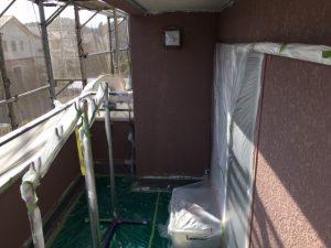 奈良県橿原市 断熱セラミックガイナを塗装5