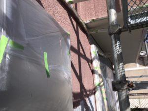 奈良県橿原市 断熱セラミックガイナを塗装2