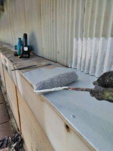 奈良県橿原市M様車庫シャッター塗装