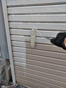 奈良県橿原市 車庫のシャッター塗装は錆び止めで長持ち