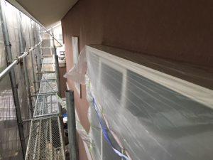 奈良県橿原市 断熱セラミックガイナを塗装 上塗り2