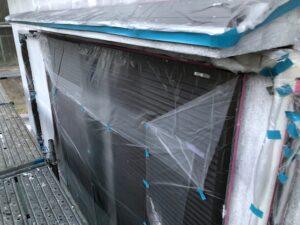 【三重県名張市】外壁塗装|塗装前の養生シートの張り方で仕上がりに差が出る