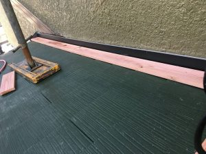 名張市 超軽量&遮熱効果高いスレート屋根リフォーム工事