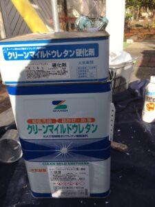 奈良県宇陀市 鉄部塗装用の塗料