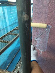 奈良県宇陀市 外壁塗装 下塗り4