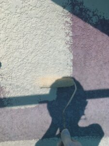 奈良県宇陀市 外壁塗装 中塗り3
