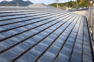 奈良県宇陀市 20年持つ遮熱と断熱効果ガイナを屋根塗装