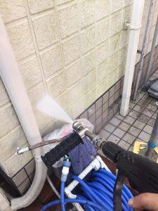 三重県名張市 外壁洗浄2
