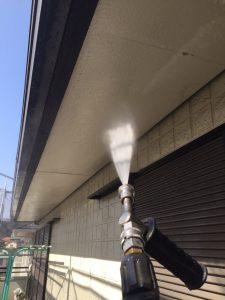 三重県名張市 外壁洗浄1