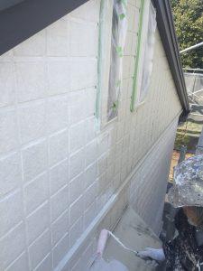 三重県名張市 外壁下塗り塗装4