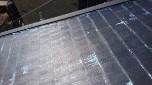 奈良県橿原市 屋根下塗り塗装シーラー塗る4