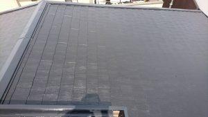 奈良県橿原市 屋根塗装 上塗り完成3