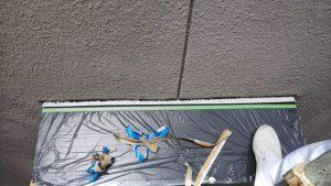 橿原市 シーリング材を充填 完成