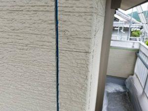 奈良県宇陀市 シーリング(コーキング)前のプライマー塗り1