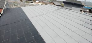 【三重県伊賀市】屋根塗装|20年の耐久性の断熱セラミックガイナで塗り替えリフォーム