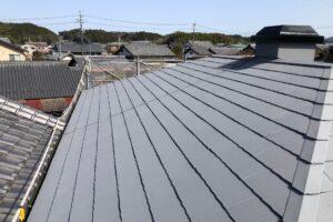 【三重県伊賀市】屋根塗装|20年持って遮熱と断熱効果のあるガイナで塗り替えリフォーム