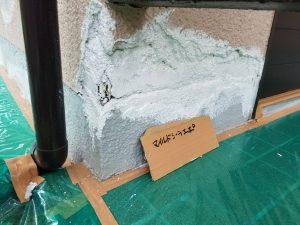 香芝市 下地調整の塗装4