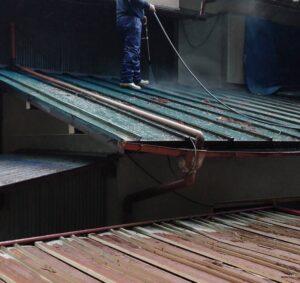三重県名張市 屋根塗装 高圧洗浄2