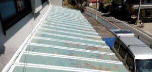 三重県 名張市 屋根塗装 下塗り2