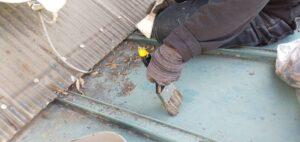 三重県 名張市 屋根塗装 清掃