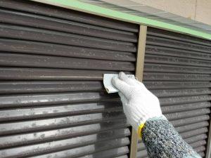 奈良県香芝市 雨戸塗装