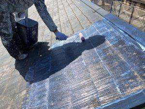 奈良県橿原市 失敗しない屋根塗り替えは1回目の下塗り