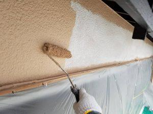 香芝市 エスケー化研の10年超のシリコン塗料を外壁塗装